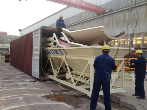 concrete batch Plant packing